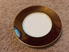 Jaune De Chrome Provence Tango Gold Bread Butter Plate NWT Limoges China
