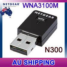 NETGEAR N300 WNA3100M Wireless WiFi USB Mini Adapter