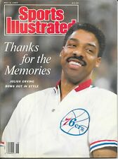 Sports Illustrated 1987 JULIUS ERVING Philadelphia 76ers Basketball NEWSSTAND