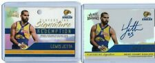 Lewis Jetta West Coast 2020 Select AFL Dominance Players Ink Signature Card #122