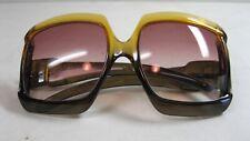 Vintage 1970'S Christian Dior Sunglasses Oversized Huge German Made