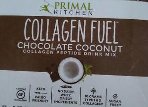 Primal Kitchen Collagen Fuel Chocolate Coconut Drink Mix 12 packs/ Servings