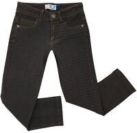 NEW Young Versace RRP £209 Designer Boys Black Jeans AGE 5 Pants Kids A316