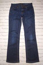 Stylish Hugo Boss Womens Blue Premium Bootcut Denim Jeans Size Waist W26 L30