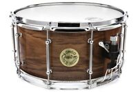 Longo Solid Ply Walnut Snare Drum 14x7