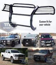2002-2009 Chevy Trailblazer Grill Brush Guard Bumper Bar Black Powder Coat