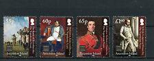 Isla Ascensión 2015 estampillada sin montar o nunca montada británico liquidación III Napoleón 4v Set Waterloo sellos