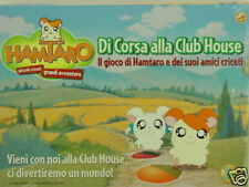 HAMTARO -DI CORSA ALLA CLUB HOUSE-GIOCHI PREZIOSI GIOCO