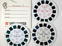 View-Master Scenic ALASKA (72962 & 1011) – 3 reels - no packet - th