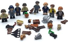 LEGO LOT OF 8 HARRY POTTER SERIES MINFIGURES FANTASTIC BEASTS FIGS W/ ACCESSORY