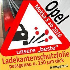 Opel Mokka X Lackschutzfolie Ladekantenschutz Folie Auto Schutzfolie