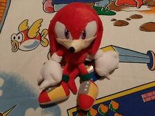 RARE NEW 2007 OFFICIAL Sanei Sonic the Hedgehog Knuckles Plush SEGA Toy Figure