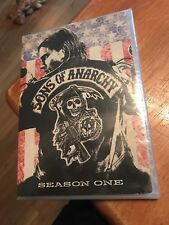 SONS OF ANARCHY - SEASON 1 DVD 4 DISC SET SEALED