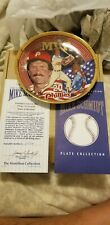 Rare Mike Schmidt Collectible Plate, Limited and Rare, Flawless with Coa!