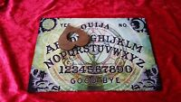 Wooden Ouija Board game & Planchette Instructions Spirit hunt Ghost magick magic