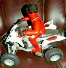 Raptor 700R Yamaha Remote Controlled RC 4 Wheeler off-road ATV Red Rider