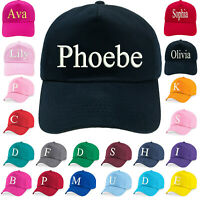 Personalised Hat Cap Custom Your Text Embroidery Stag Hen Party Men Women Kids