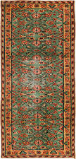"""Hand-knotted Turkish 3'3"""" x 7'2"""" Melis Vintage Wool Rug...DISCOUNTED!"""