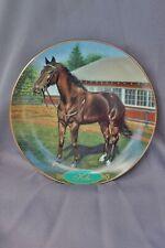 Danbury Mint Legendary Racehorses Kelso by Susie Morton Plate # A1575