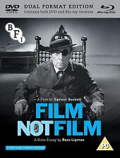 FILM / NOT FILM di Samuel Beckett con Buster Keaton BLURAY+DVD in Inglese NEW.cp