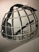 BAUER TRUE VISION I 1 FM2100 M/M Medium FACE MASK HOCKEY HELMET CAGE GUARD @a