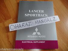 2004 Mitsubishi Lancer Sportback Electrical Supplement Service Manual OEM