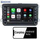 Car Stereo Radio Carplay Android Auto BT USB RDS WIFI For VW GOLF CADDY TIGUAN