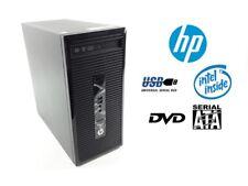 Hp Prodesk 400 G2 Mt Intel Pentium G3240-2x3, 10Ghz 4GB Ram 500gb Sata Dvd-Rw