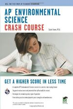 AP® Environmental Science Crash Course Book + Onl