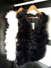 New Women Ladies Winter Faux Fur Sleeveless Vest Gilet Waistcoat Jacket Outwear