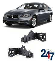 NEW BMW 5 SERIES F10 F11 2010 - 2016 FRONT HEADLIGHT SUPPORT BRACKET PAIR SET