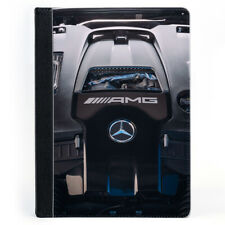 AMG Tuning Car Engine Turbo Petrol Diesel Black Tablet Leather Case Cover