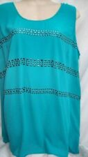 Plus Size Evening, Occasion Solid Tunic Tops & Blouses for Women