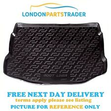 BOOT TRAY LINER MAT BLACK HEAVY DUTY QUALITY FOR VAUXHALL ASTRA J HATCHBACK NEW