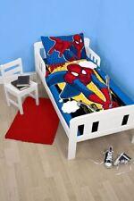 Ropa de cama color principal azul para niños de Spider-Man