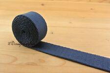 5 yards 1 inch(25mm) heavy weight cotton webbing key fob strap ZD85