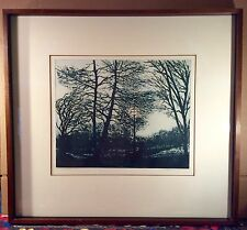 """Signed/ Titled/ Numbered Etching by Francis Kelly~""""Twilight""""~22/50~Finely Framed"""