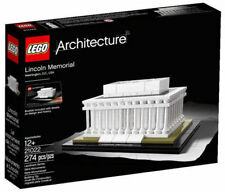 Architecture White LEGO Buidling Toys