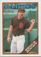 Bruce Bochy 1988 Topps Baseball Card #31 San Diego Padres
