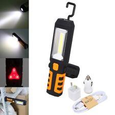 360º Arbeitsleuchte LED AKKU KFZ Ladegerät USB Taschenlampe Werkstatt Handlampe