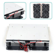 New Listing12v Refrigeration Plate Cooler Semiconductor Peltier Cold Cooling Fan Summer 14a