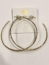 Taner Extra Large Hoop Earrings GORJANA Gold Tone