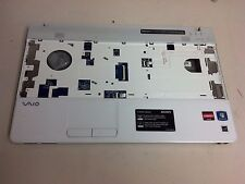 Sony Vaio PCG-61611L White Palmrest Touchpad Power Button Assembly + Bottom