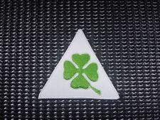 Iron/Sew on 4 leaf clover biker Patch Harley Davidson proud irish four Ireland