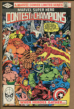 Marvel Super Hero Contest of Champions #1 - When Hero's Gather! - 1982 (8.0) WH