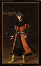 Vlad Tepes Vlad el Empalador Transilvania Vampiro Drácula 7x4 pulgadas impresión 17thc 22