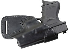 Glock-26, 27, 28, 33, 39, 19 concealment carry (OWB) gun holster genuine leather
