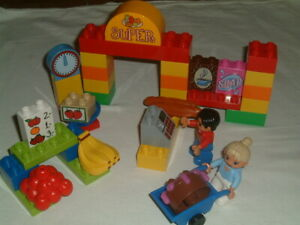 Lego Duplo 6137 My First Supermarket 100% complete without box
