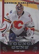 2010-11 Upper Deck #209 Henrik Karlsson Young Guns Rookie Card