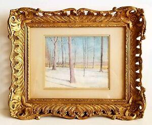 Original Painting Russian American Boris Solotareff ( 1889 - 1966 )Pennsylvania